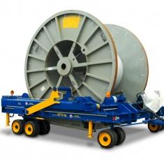 Industrieanhänger für Kabeltrommeltransporte