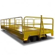Industrieanhänger mit Geländer