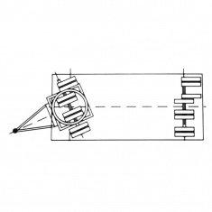Industrieanhänger mit Drehschemellenkung mit Pendelachse
