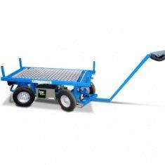 Elektrische Transportwagen - Ergomover BASIC mit fester Ladefläche