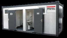 Sanitaercontainer mieten