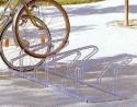 Fahrradreihenparker einseitig