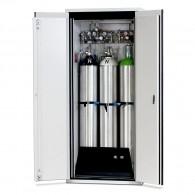 Druckgasflaschenschrank Typ 90- Breite 900mm, Türfarbe grau oder gelb, G-Ultimate-90