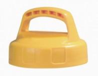Lager- und Transportdeckel für Öl-Kannensystem, gelb oder rot