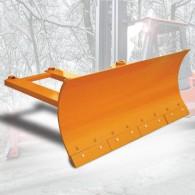 Schneeschild mit Federklappschare