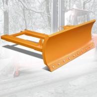 Schneeschild mit Stahlschürfleiste