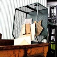 Gitter - Kippbehälter