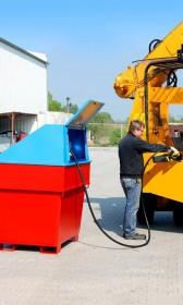 Mobile Diesel-Tankanlage, doppelwandig, 800l