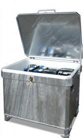 Altbatterie-Container zum Sammeln und Lagern von Akkumulatoren