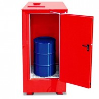 Brandschutzcontainer für 1-4 200-Liter-Fässer
