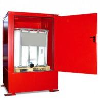 Brandschutzcontainer für 1-2 Stück 1000-l-IBC`s