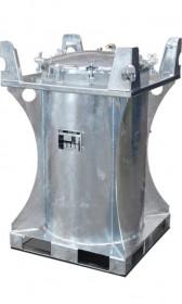 Mobile Diesel/Heizöl-Tankanlage, 235l, ohne Pumpe oder mit Hand- oder Elektropumpe