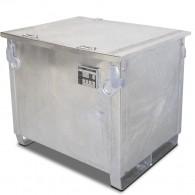 Mobile Tankanlage mit Auffangwanne für Diesel oder Heizöl, 450l, 600l oder 1000l