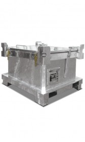 Sonderabfall-Behälter, Fassungsvermögen 450-800l