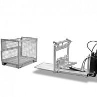 Kippomat für Euro-Gitterboxen