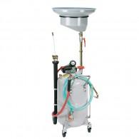 Mobiles Ölabsauggerät, pneumatisch, 90l, mit Sammeltrichter