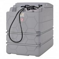 Cube-Komplettstation Indoor-Basic, Dieseltank mit Pumpe 1500l und 2500l
