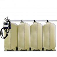 GT-Diesel-Batterie-Tankanlage, 4000l, 6000l oder 8000l, einwandig