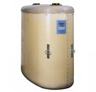 Profi-Tankanlage für Frisch- oder Gebrauchtöl aus GFK, zur Lagerung, doppelwandig