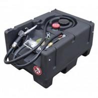 Mobile Benzin Tankanlage 120l, KS-Mobil Easy, mit Hand- oder Elektropumpe 12V, mit oder ohne Deckel