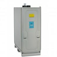 Schmierstoff-Tankanlage, doppelwandig, zur Lagerung von Frisch- und Gebrauchtöl