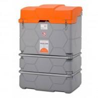 Cube-Komplettstation Basic-Outdoor, Dieseltank 1000l, 1500l und 2500l - mit Klappdeckel