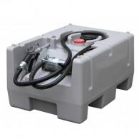 Mobile Tankanlage aus PE, Fassungsvermögen 200l