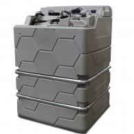 Cube-Schmierstofftank Kompaktanlagen, Indoor oder Outdoor Version - 1.000l, 1.500l oder 2.500l, verschiedene Ausstattungen