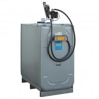 UNI-Einsteigerpaket-Premium, Fassungsvermögen 1000 l, doppelwandig, mit Pumpe 50l/min