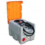 Mobile Tankanlage aus PE, 430l, einwandig, Schnellkupplung, 12V oder 24V-Pumpe