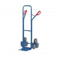 Treppen-Sackkarre mit Dreier-Radstern