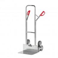Aluminium-Treppen-Sackkarre mit Dreier-Radstern