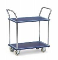 Tischwagen, Ganzstahl mit zwei Ebenen