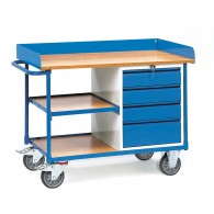 Werkstattwagen mit Schubladen, Tragkraft 400kg