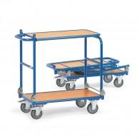 Tischwagen, klappbar mit zwei Ebenen