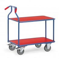 """Tischwagen """"Optiliner"""" mit zwei Ebenen und ergonomischem Griff"""