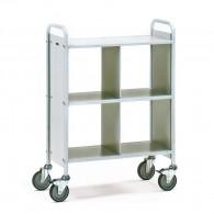 Büro-Transportwagen 150kg mit drei Ebenen