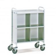 Büro-Transportwagen mit drei Ebenen, Tragkraft 150kg