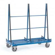 Plattenwagen mit zweiseitiger Anlage
