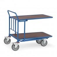 Einkaufswagen mit doppelter Ladefläche