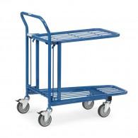 """Einkaufswagen """"Lagerwagen"""" mit doppelter Ladefläche"""