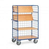 Etagenwagen mit faltbaren Etagenböden, Tragkraft 600kg