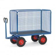 Handpritschenwagen mit Drahtgitterwänden 1000mm