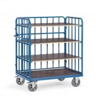 Etagen- Transportwagen mit vier Ebenen