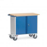 Werkstattwagen 2-türig mit oder ohne Abrollrand
