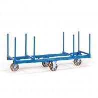 Langmaterialwagen mit zwei Materialmulden