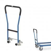 Einklink-Rohrschiebebügel für Paletten-Fahrgestelle
