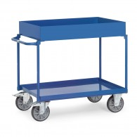 Stahl-Tischwagen mit Wannen