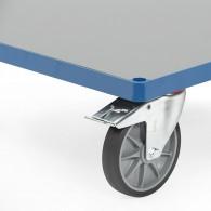 Ladefläche aus Hart-PVC Platte