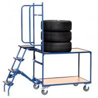Kommissionierwagen für Reifen und Räder